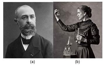 radioatividade - Henri Becquerel - Marie Sklodowska Curie
