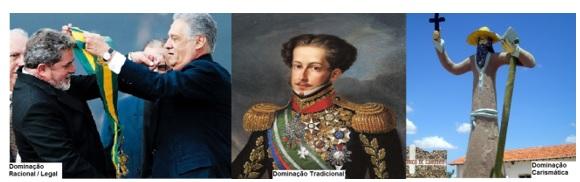 Lula, FHC, Dom Pedro I, Antonio Conselheiro, Max Weber