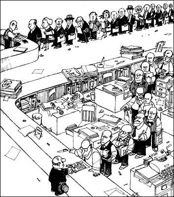 burocracia, Max Weber