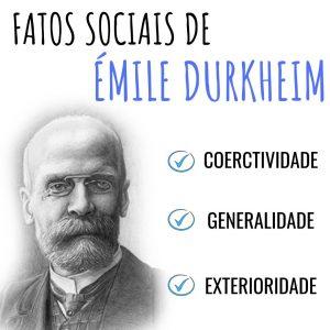Fatos Sociais de Emile Durkheim