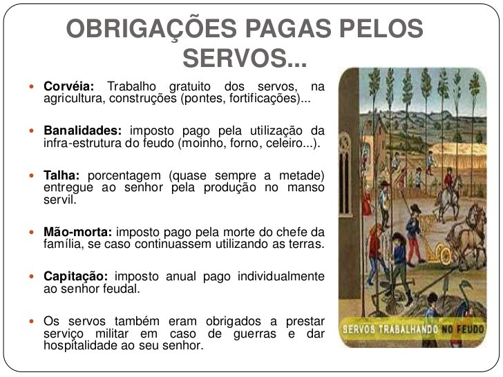 Servos na Idade Média