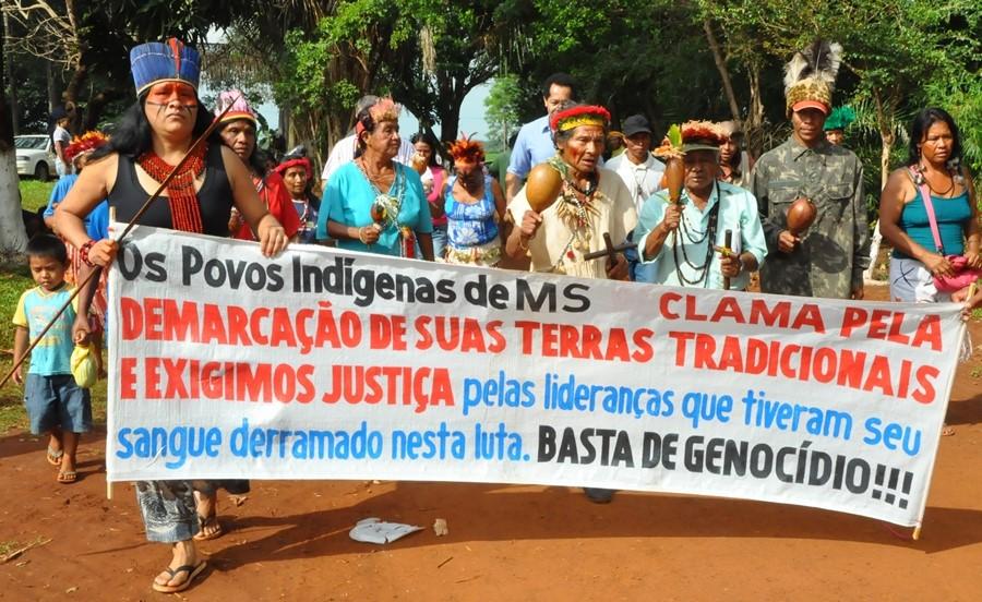 manifestação pela demarcação de terras indígenas: direito à diversidade