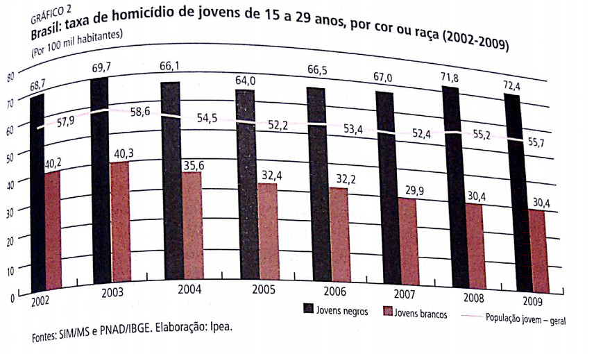 IBGE, gráfico, renda, raça, desigualdade racial