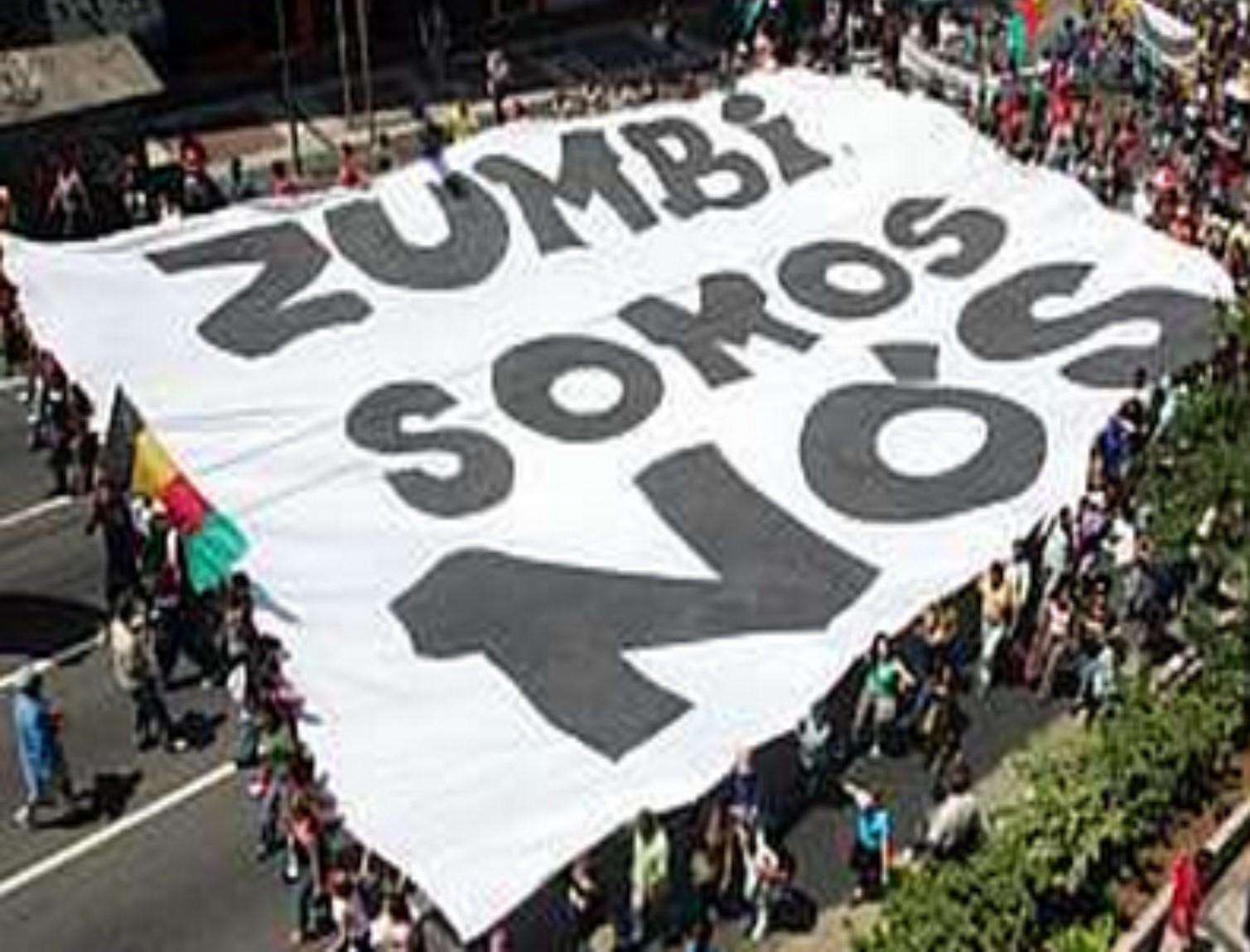 Marcha, consciência negra, movimento negro, desigualdade racial