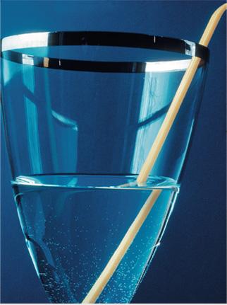 princípios da óptica - líquido