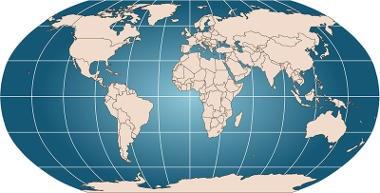 Projeção de Robinson Cartografia