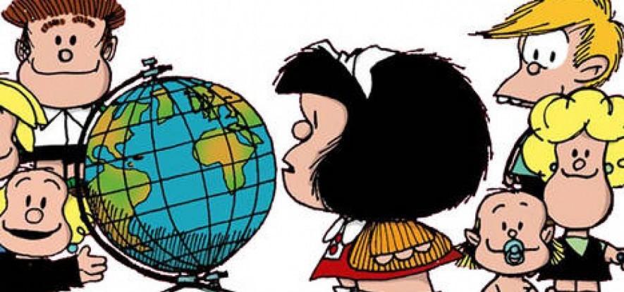Globo, Mafalda, globalização