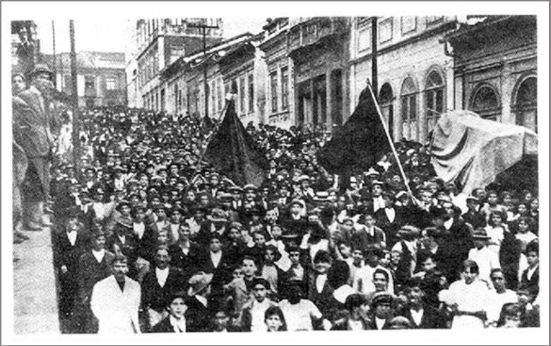Greve geral de 1917 - movimentos sociais