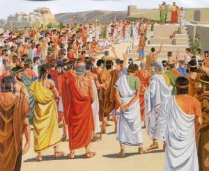 Democracia, Grécia, Ágora