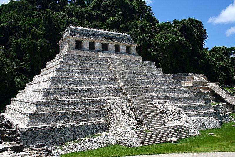Construção Maia, México, Palenque - Incas, Astecas e Maias
