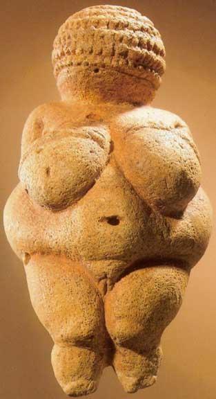 Inscrições rupestres - Vênus de Willendorf