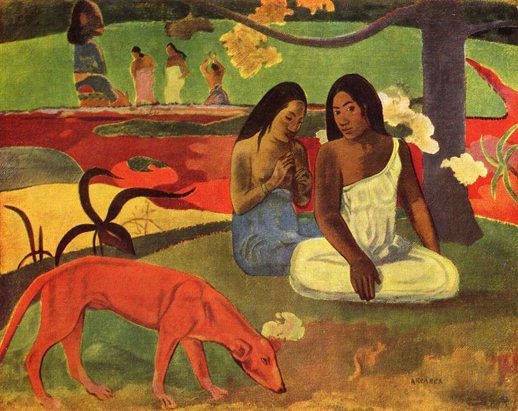 primitivismo - GAUGUIN