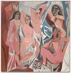 cubismo - Les demoiselles d'Avignon