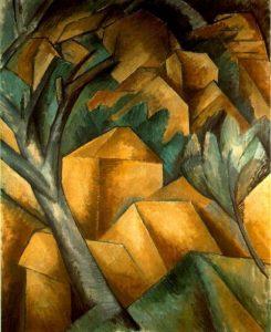 cubismo - Casas em L'Estaque