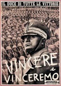 Fascismo italiano, Mussolini, Propaganda, totalitarismo europeu