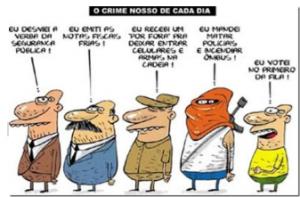 corrupção - charge