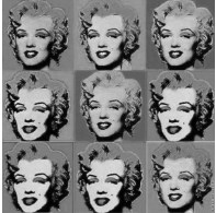 Pop art - Marilyn Monroe - exercício