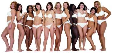 padrões de beleza - mulheres