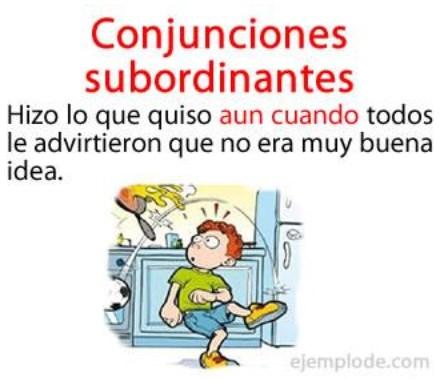 conjunções subordinadas - exemplo 2