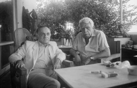 João Cabral de Melo Neto e Rubem Braga