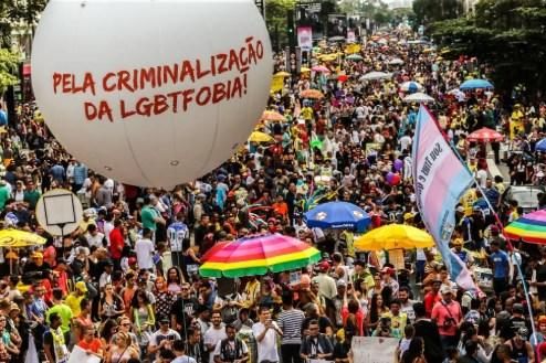 direitos LGBT - Parada do Orgulho LGBT