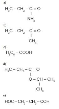 compostos orgânicos - exercício 2