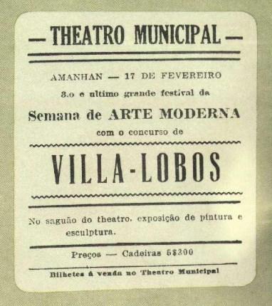 modernismo - Villa Lobos