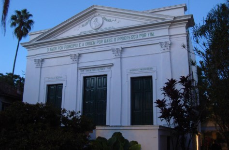 Augusto Comte - templo