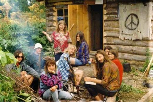 convívio social - comunidade hippie