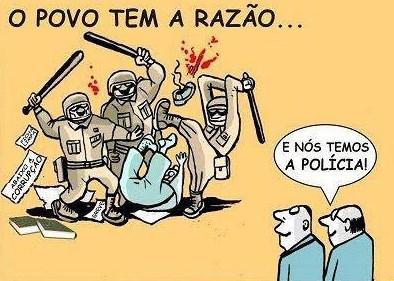 controle social - polícia