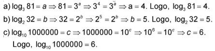 logaritmos - resolução