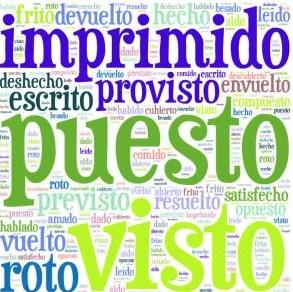 Particípio - verbos irregulares
