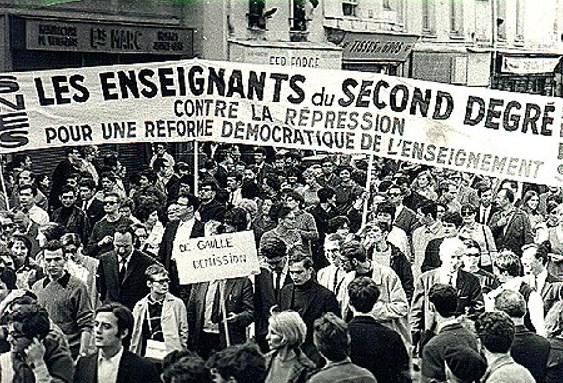 movimentos de 1968 e protestos
