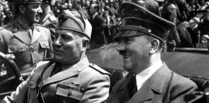 mussolini e hitler segunda guerra mundial