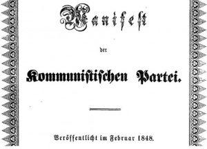 Manifesto Comunista Karl Marx
