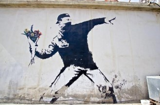 Street art - flowers