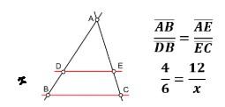 Semelhança entre Triângulos - 3
