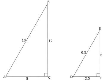 Semelhança entre Triângulos - 5