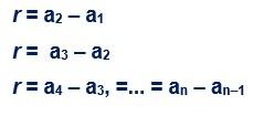 progressão aritmética 10