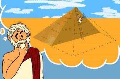 filósofos da natureza - O teorema de Tales