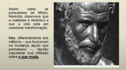 filósofos da natureza - Heráclito de Éfeso