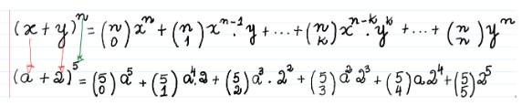 Binômio de Newton - 11