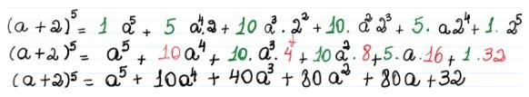 Binômio de Newton - 14