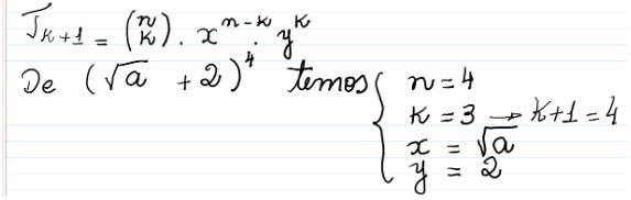 Binômio de Newton - 18