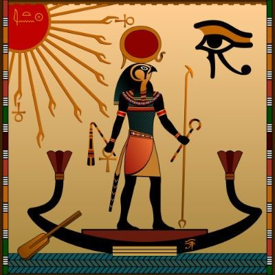 deus Rá do Egito