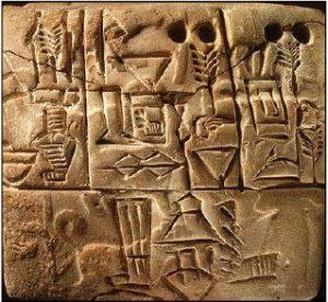 escribas sumerios mesopotamia