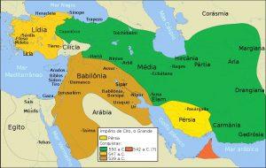 mapa da persia
