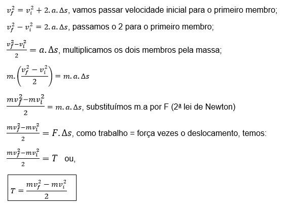 equações de torricelli