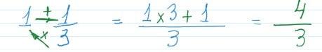 números mistos - cálculos