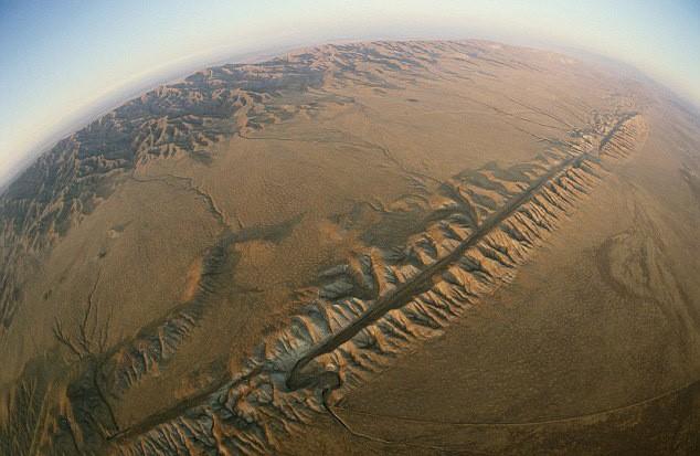 falha de san andreas e placas tectonicas